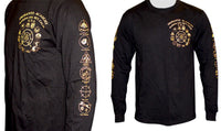 Long Sleeve - Inosanto Academy - Black & Gold