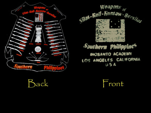 T-Shirt - Weapons of the Southern Philippines
