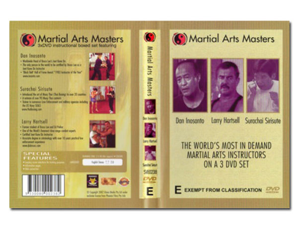 Martial Arts Masters - 3 DVD Set