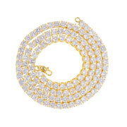 Tennis Chain Gold 5mm - House of Carats UK