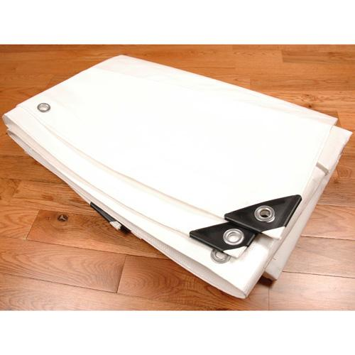 Sigman 8' x 10' White Heavy Duty Tarp