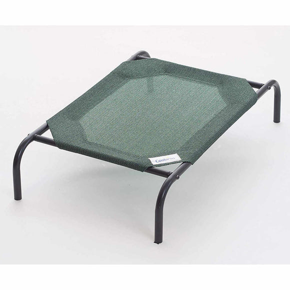 Coolaroo Dog Bed Medium (3' X 2') Brunswick Green