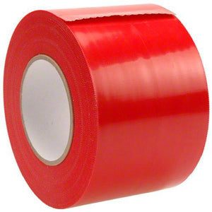 Husky 4 in. x 180 ft. Yellow Guard Vapor Barrier Sealing Tape - Red