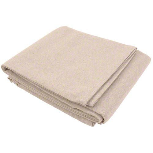 Sigman 5' x 5' Canvas Drop Cloth with Poly Backing