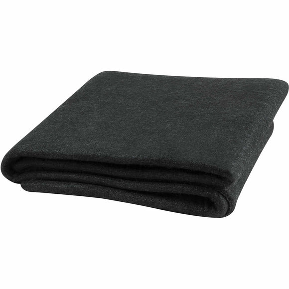 4' x 6' Velvet Shield Welding Blanket - 16 oz Black Carbonized Fiber