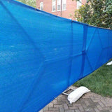 6' x 25' Fence Screen - 87% Knitted Polyethylene