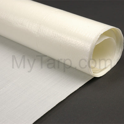 Sample Swatch - Flame Retardant Poly Tarp Fabric - 7 oz