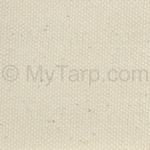 #8 Natural Cotton Duck Canvas Fabric - Sample Swatch