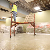 "48"" x 500' Carpet Protection Film 2 MIL"
