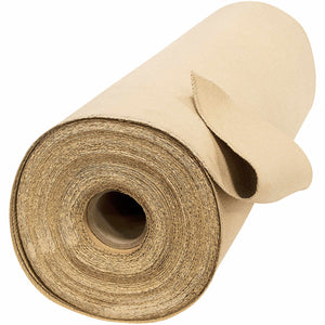 "60"" x 50 Yard Welding Blanket Roll - 35 oz Tan Vermiculite Coated Fiberglass"