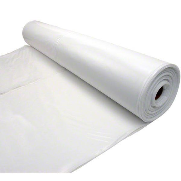 Sigman 12' x 100' 6 MIL Anti-Static Flame Retardant Plastic Sheeting