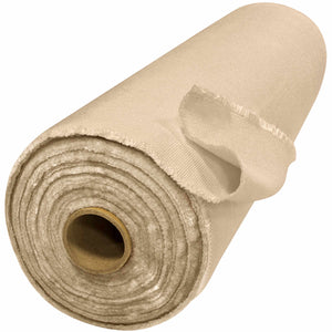 "40"" x 50 Yard Welding Blanket Roll - 24 oz Heat Cleaned Fiberglass - Tan"