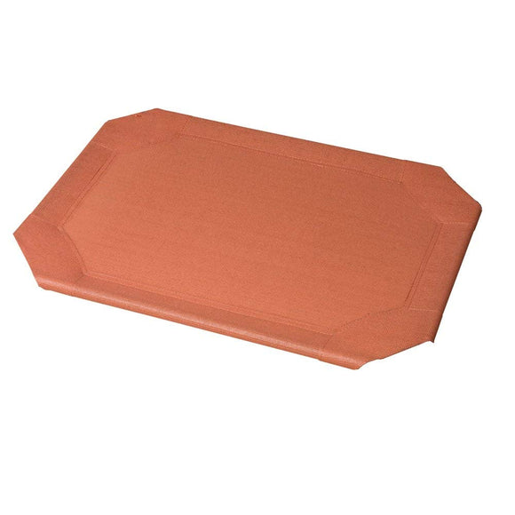 Coolaroo Outdoor Dog Bed Replacement Cover Large Terra Cotta