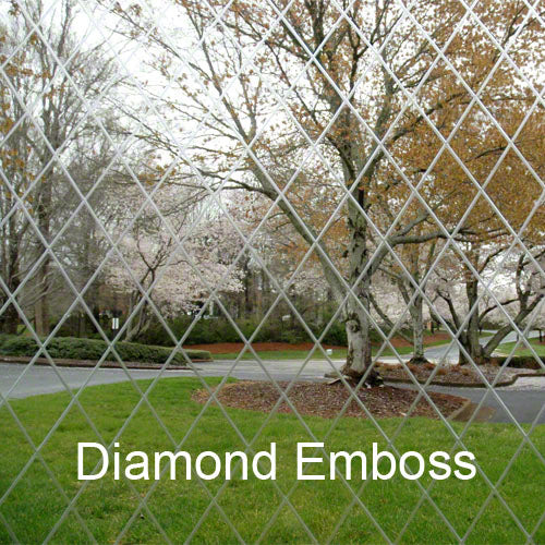 Clear Vinyl Fabric 20 MIL - Diamond Emboss - 54