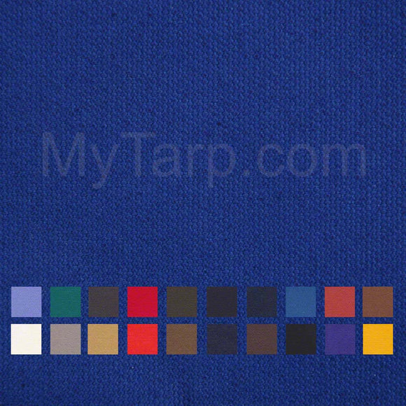 10 OZ Cotton Canvas Duck Cloth - Dyed - Sample Swatch