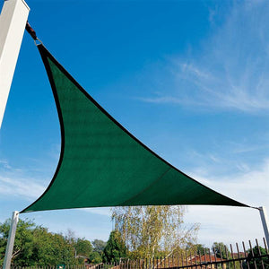 "Coolaroo Triangle Shade Sail With Accessories 11'10"" Brunswick Green"
