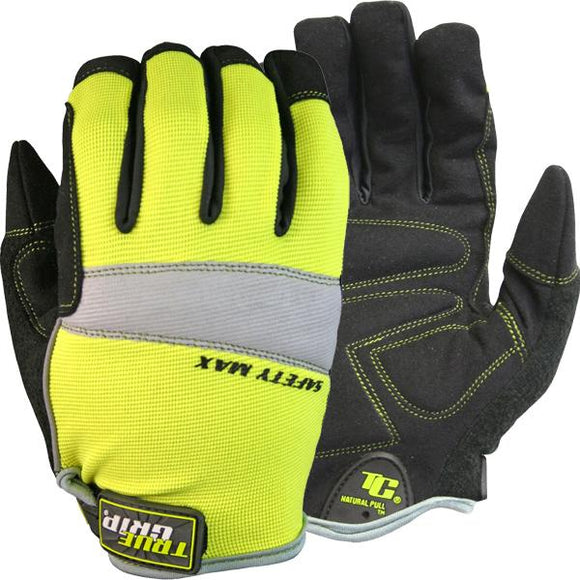 True Grip Safety Max Work Gloves - Large Size - 9043