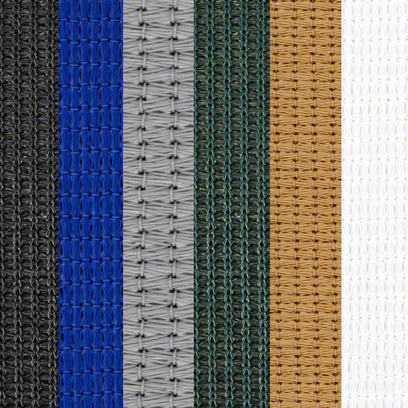 Sample Swatch - Sigman Sun Shade Mesh Fabric - 86% Shade