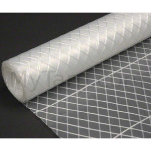 "Clear Poly Fabric - 7 oz String Reinforced - 73"" Width"