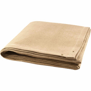 8' x 8' Welding Blanket - 35 oz Tan Vermiculite Coated Fiberglass