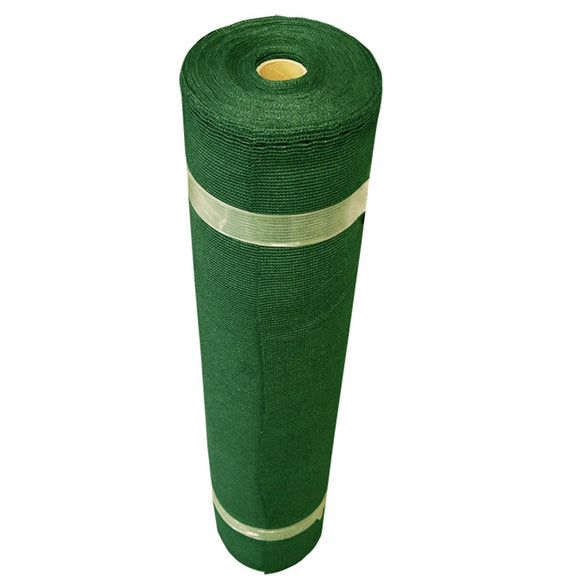 Coolaroo 6' x 100' Shade Fabric 50% Shading Forest Green