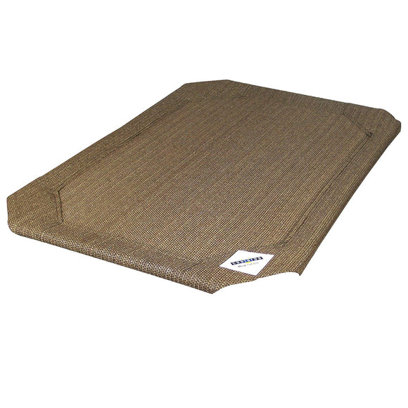 Coolaroo Outdoor Dog Bed Replacement Cover Large Nutmeg