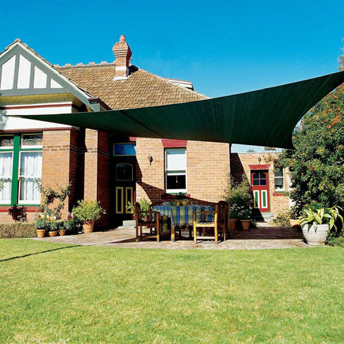 Coolaroo Square Shade Sail With Accessories 11'10
