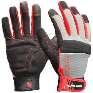 True Grip General Purpose Work Gloves With Touchscreen Fingers