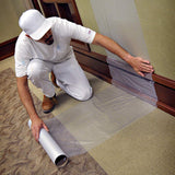 "24"" x 50' Surface Protection Film 3 MIL - CX3 Zero Adhesive Residue Technology"