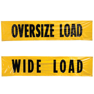 "Kinedyne Oversize Load Safety Banner 18"" x 84"" - 9124"