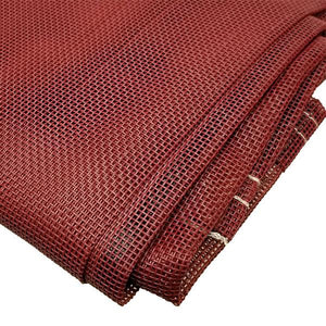 Sigman 8' x 12' Vinyl Coated Mesh Tarp 50% Shade - Made in USA