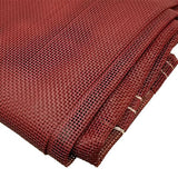 Sigman 10' x 10' Vinyl Coated Mesh Tarp 50% Shade - Made in USA