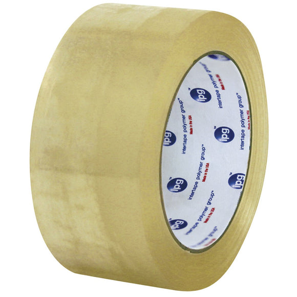 IPG Intertape 400 Carton Sealing Tape - Acrylic Adhesive - 2.1 MIL - Clear - 3