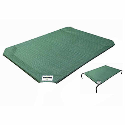 Coolaroo Outdoor Dog Bed Replacement Cover Medium Green