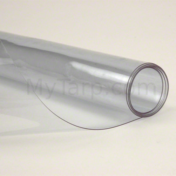 Clear Vinyl Fabric 20 MIL - Flame Retardant - 54