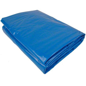 Sigman 50' x 100' Blue Poly Tarp - Made in USA