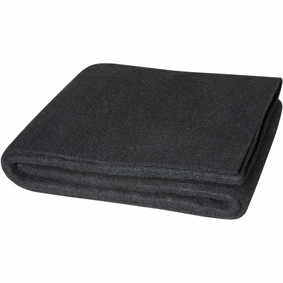 4' x 6' Velvet Shield Welding Blanket - 24 oz Black Carbonized Fiber
