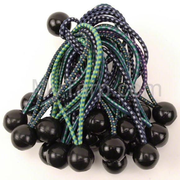 Tarp Ball Bungee Cords - Multi-Color