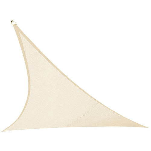 Coolaroo Ultra Shade Sail Triangle 23 ft Ivory 474263