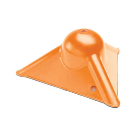 Kinedyne Orange Plastic Tarp Guard Corner Protector - 37028