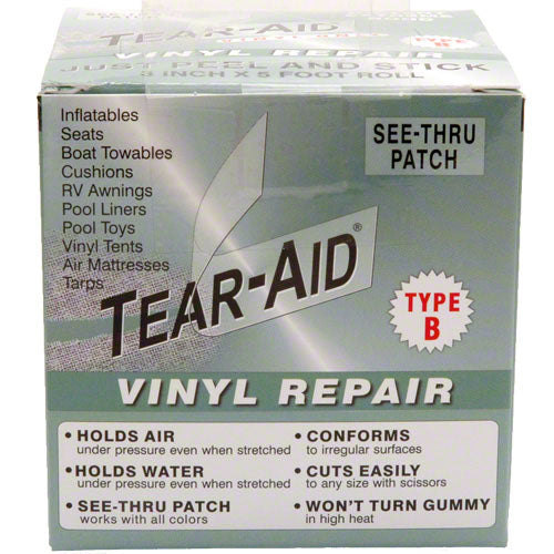 Tear-Aid Vinyl Repair Patch - Clear - Type B