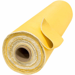 "60"" x 50 Yard Welding Blanket Roll - 24 oz Gold Acrylic Coated Fiberglass"