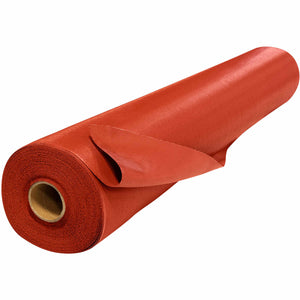 "60"" x 50 Yard Welding Blanket Roll - 17 oz Silicone Coated Fiberglass - Red"
