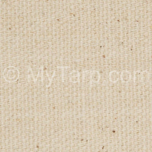 #10 Natural Cotton Duck Canvas Fabric