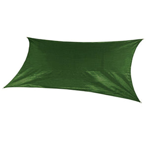 Coolaroo Ultra Shade Sail Rectangle 12'x10' Olive Green 474157