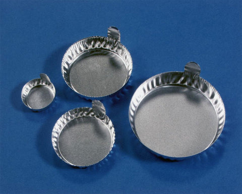 Aluminium Weighing Dishes with Tabs(Pack of 100)