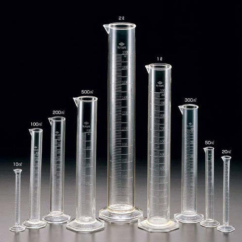 Measuring Cylinders, Glass