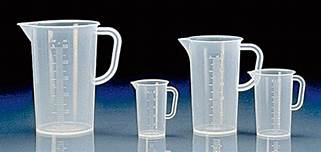 Beakers with Handle, Griffin, Tall Form (Pitchers) Polypropylene