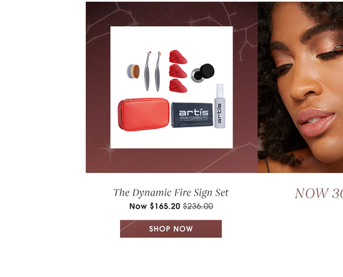 The Dynamic Fire Sign Set. Now $165.20. Value of $236