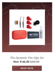 The Dynamic Fire Sign Set. Now $165.20. Value of $236.